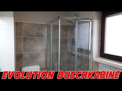 Evolution Duschkabine 90x70cm für 270 Euro [Aufbau + Vorstellung]