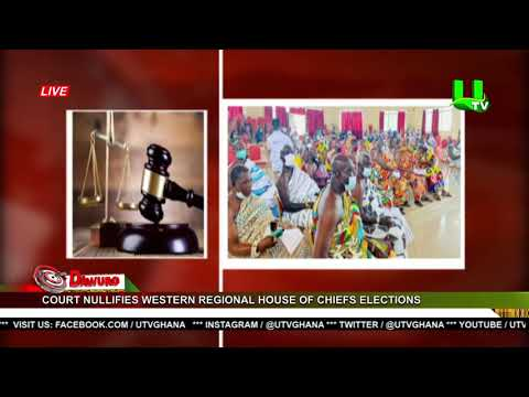 Court nullifies Western regional House of Chiefs elections