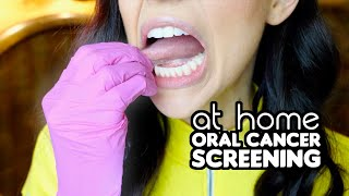 How To Screen For Oral Cancer At Home