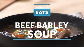 How to Make Beef Barley Soup in Your Pressure Cooker