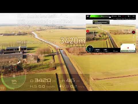 DJI Mavic Air range test