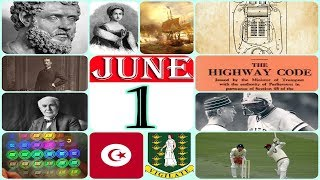 TODAY IN HISTORY - 01 JUNE - ON THIS DAY HISTORICAL EVENTS - Download this Video in MP3, M4A, WEBM, MP4, 3GP