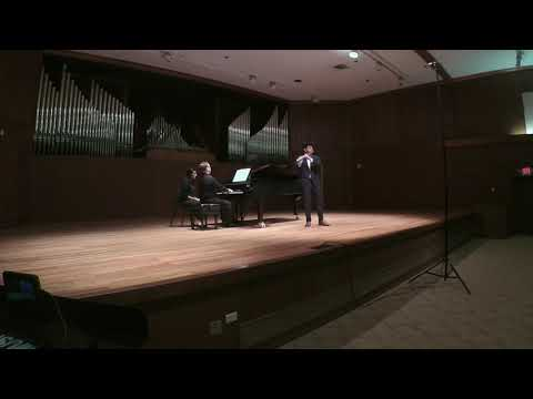 Fantaisie pour flute and piano, Georges Hue. November 5th, 2019