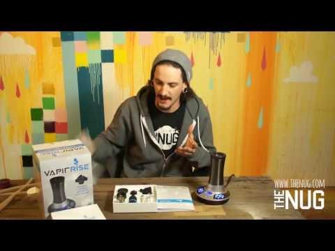 Vapir Rise Vaporizer Review Demo- Vapir Rise unboxing and demo