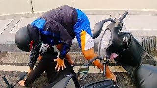 Scooter Crash Scooter Crash Compilation Driving in Asia 2016 Part 4