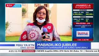 Viongozi wanawake wa KANU wakubali mabadiliko Jubilee