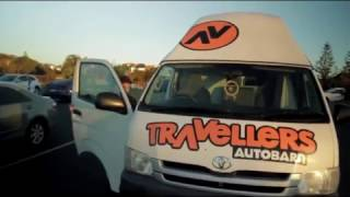 Sun, beach, surf and a campervan. Four friends go on an epic road trip from Cairns to Byron Bay, travelling the East Coast of Australia in a Travellers Autobarn Hi5 Campervan.