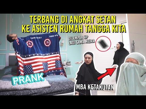 PRANK DI ANGKAT SET4N KE MBAK KITA! SAMPE DI LEMPAR HP! :(