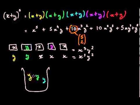 Les coefficients du binôme et les combinaisons (vidéo) | Khan Academy