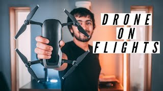 How to Travel with a DRONE on Flights (INDIA)