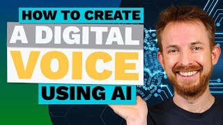How to clone your own voice (or anyone else's) with AI