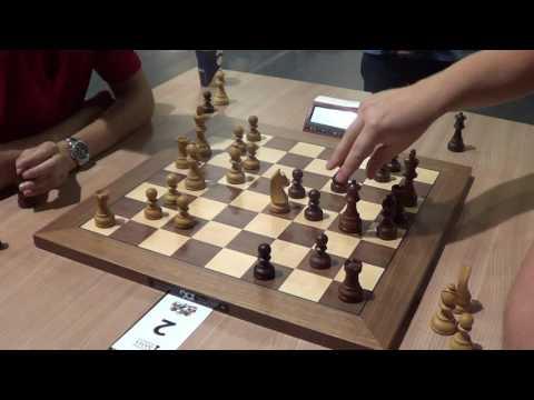 Naroditsky Daniel- Alexei Shirov, London system, live chess blitz