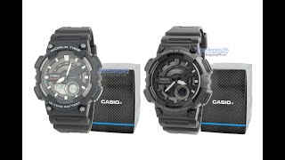Видео обзор спортивных часов Casio AEQ 110W-1A и AEQ 110W-1B