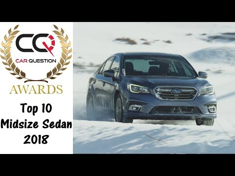 2018 Best Family Car To BUY! | CarQuestion Midzise Sedan Awards 2018