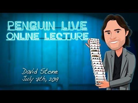 Penguin Live Lecture - David Stone