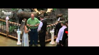 Cabelas Camo Wedding Officiated By Greg T. Sirpis