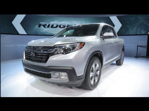 2017 Honda Ridgeline - 2016 Detroit Auto Show