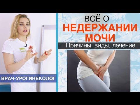 Недержание мочи у женщин (инконтиненция). Причины, симптомы, лечение