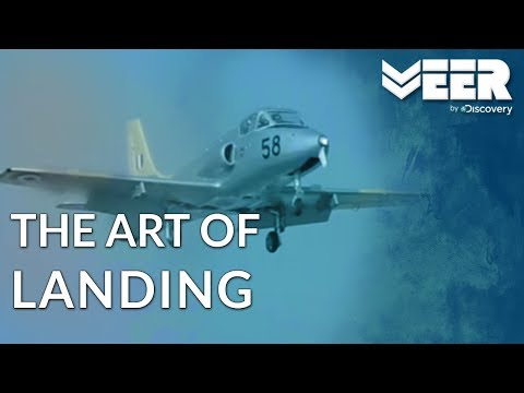 Indian Air Force Academy E3P2 | Mastering The Art of Landing an Aircraft | Veer by Discovery