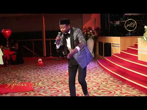 Nigerian Comedian Mcee Cole Stylishly Drops His Pants On Stage