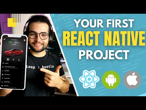 🔴Build your first App in React Native in under 2 hours [ Tutorial for beginners ]