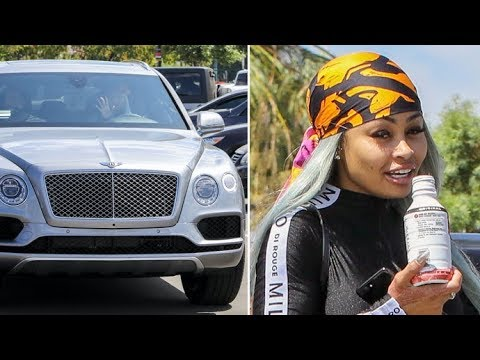 Blac Chyna Flaunts Brand New $229K Bentley Amid Reports Rob Kardashian Repossessed Her Other One