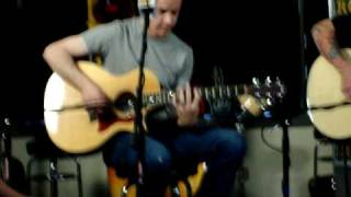 TAPROOT FRACTURED (EVERYTHING I SAID WAS TRUE) ACOUSTIC LIVE & INTERVIEW @ 95.1 WIIL ROCK