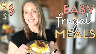 Easy Cheap Meals For BUSY MOMS - Cook With Me 💸Frugal Living