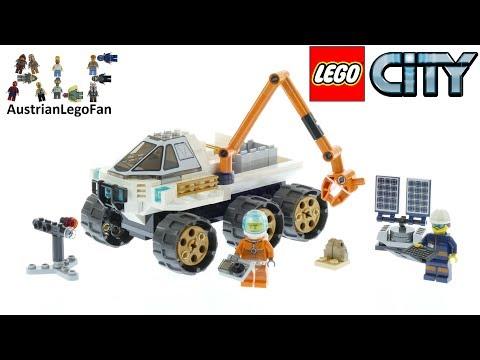 Vidéo LEGO City 60225 : Le véhicule d'exploration spatiale
