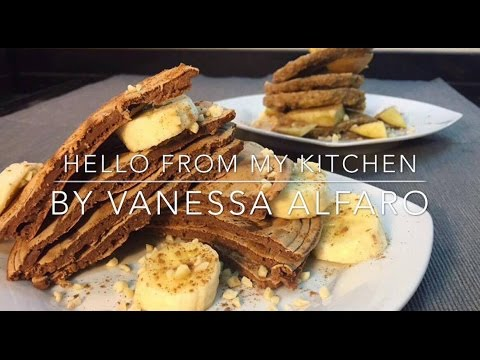 Hello From My Kitchen by Vanessa Alfaro #2 Panquecas Fit