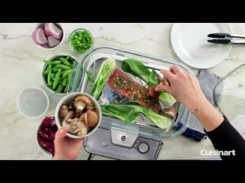 CookFresh™ Digital Glass Steamer Demo (STM-1000W)