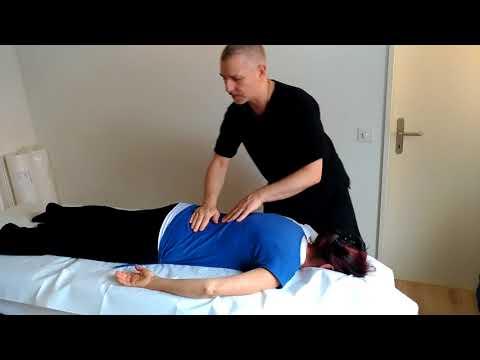 Programma di massaggio per la malattia degenerativa del disco cervicale
