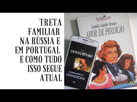 Conexões literárias: Fiódor Dostoiévski e Camilo Castelo Branco!