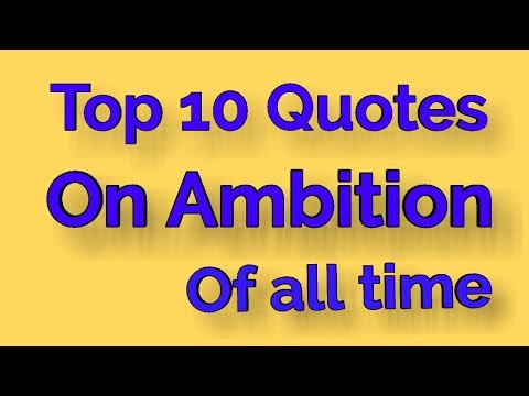 QUOTES ON AMBITION#1||FOR ADVANCED LEARNERS