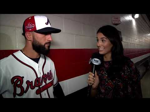 Atlanta Braves' Nick Markakis taking it all in during his first MLB All-Star Game