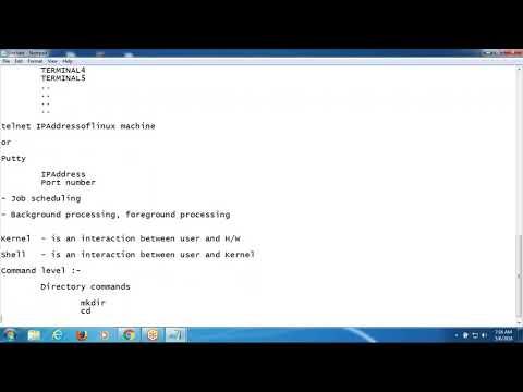Learn Unix - Unix Course for Beginners | Unix training 1