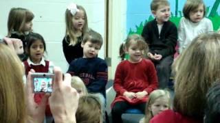 Sam's class Mary & Joseph song