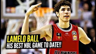 LaMelo Ball Goes CRAZY For 32 Point TRIPLE DOUBLE!! Becomes YOUNGEST PLAYER In NBL To Do So!!