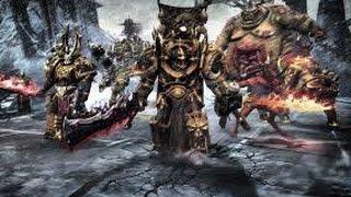 """Темный легион хаоса против космического десанта. Игровой фильм """"Dawn of War II - Chaos Rising"""""""