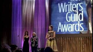 2011 WGA Awards: Murphy Brown's Diane English accepts the TV Laurel Award