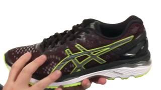 Asics GEL-Kayano 23 Men's Running Shoes video
