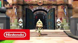 Nintendo SNACK WORLD: DE MAZMORRA EN MAZMORRA – EDICIÓN ORO: ¡A por los tesoros!  anuncio
