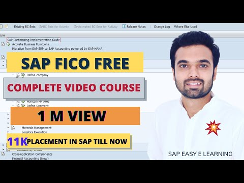 SAP FICO Training - Complete SAP FICO Video Based Course | Class 1| Complete FICO Course