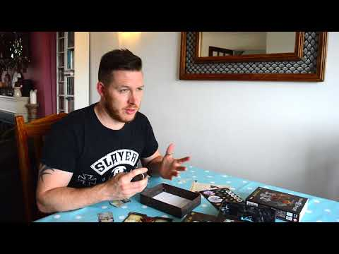 Sword And Sorcery: Onamor and Victoria Unboxing