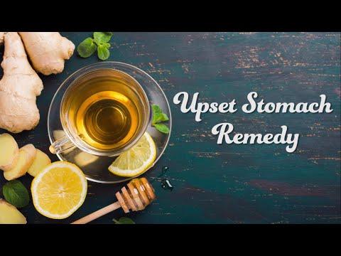 Video Upset Stomach Remedy
