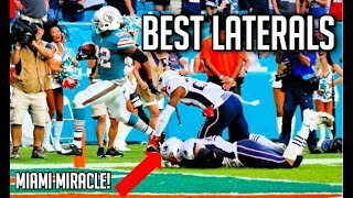 Best Laterals In Football History || HD