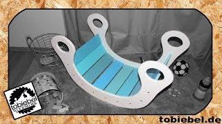 (1/2) DIY Kinder Regenbogenwippe aus Holz Kinderspielzeug Kaufmannsladen selber bauen Kinderzimmer