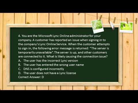 Microsoft MTA 98-369 practice test - YouTube