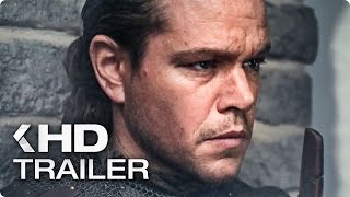 THE GREAT WALL Trailer 2 German Deutsch 2017