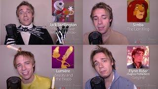 ONE GUY, 24 VOICES (DISNEY IMPRESSIONS: Olaf, Maui, Gaston)